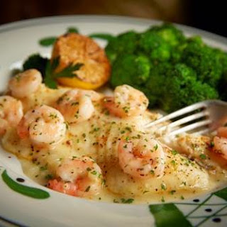Baked Tilapia with Shrimp