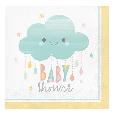 Servetter - Sunshine Babyshower
