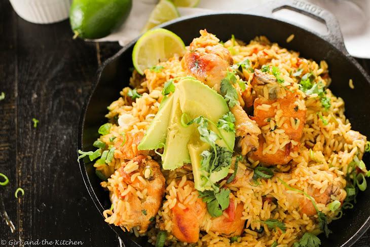 Arroz Con Pollo...One Pot Mexican Rice and Chicken Recipe