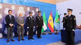 Acto de toma de posesión del nuevo comisario jefe de El Ejido.