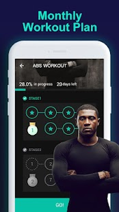 Man Workouts - Abs Workout & Building Muscle Screenshot