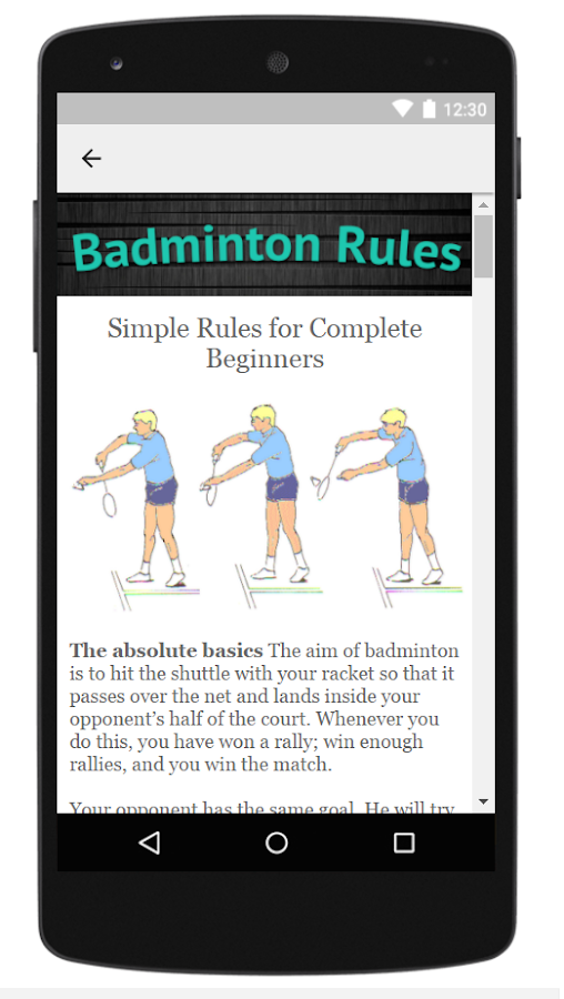 how to play badminton rules in tamil