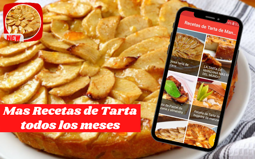 Recetas de Tarta de Manzana fácil screenshot 1