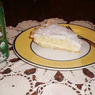 Coconut Cream Pie With Coconut Milk Recipes.