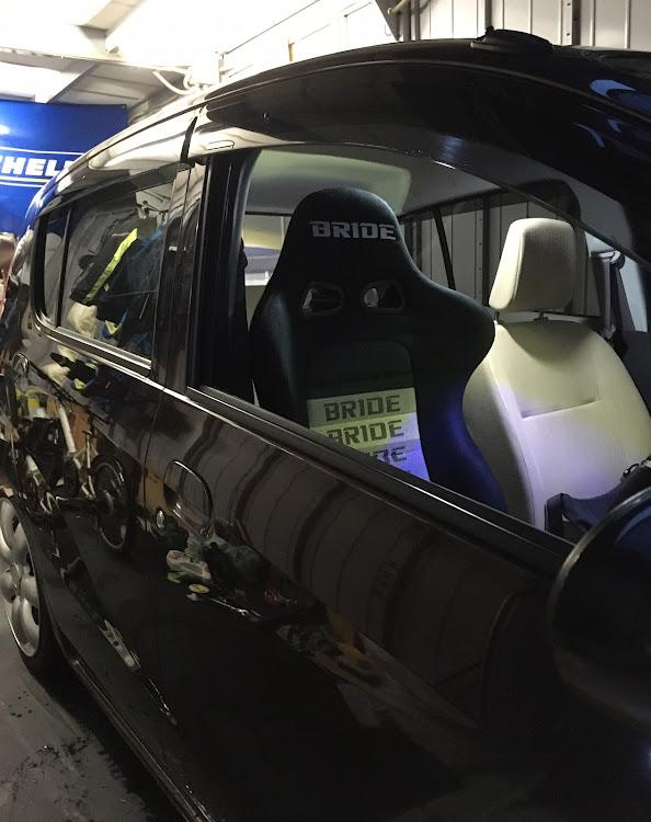 ミラ L275SのDIY,ブリッドセミバケ,ブリッドシート取付け,洗車,ユーロスター2に関するカスタム&メンテナンスの投稿画像5枚目