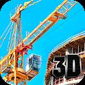 Tower Crane Simulator 3D icon