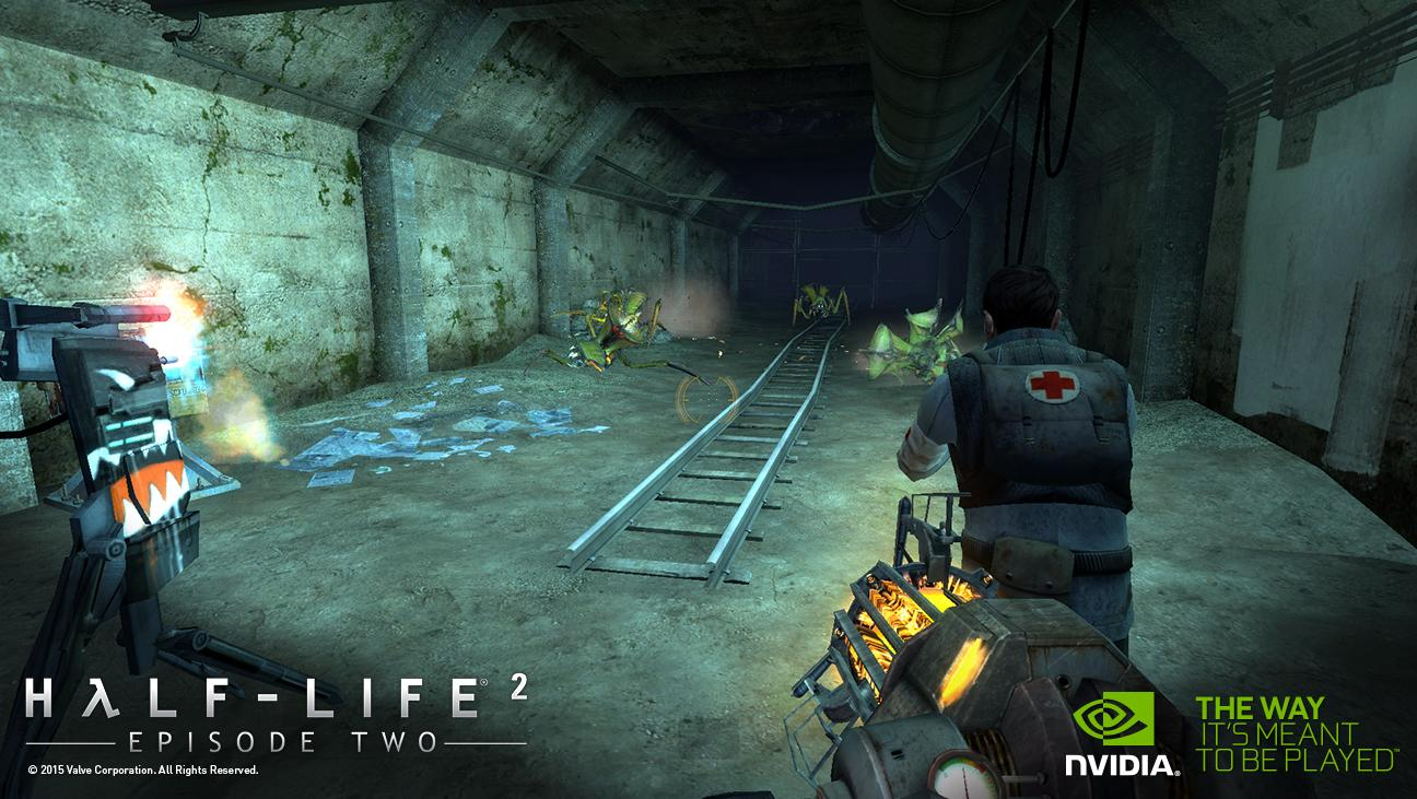 Half life 2 episode 2 the orange box