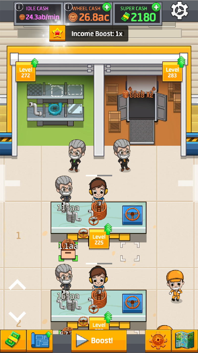 Idle Factory Tycoon Screenshot 6