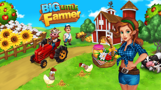 Big Little Farmer Offline Farm 2