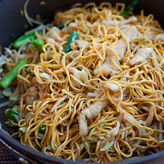 Chicken Cabbage Chow Mein Recipes.