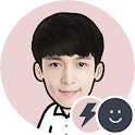 EXO LAY Battery Widget
