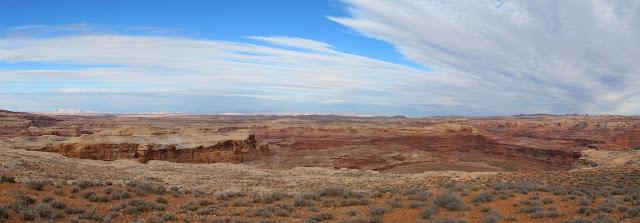 Panorama near Bull Hollow
