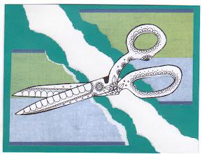 Photo: Wenchkin's Mail Art 366 - Day 173, card 173b