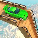 Superhero Mega Ramp Car Stunt icon