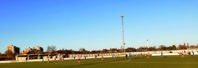 Photo: 11/01/14 v Spennymoor Town (Northern League Division One) 0-7 - contributed by Mike Latham