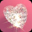 Diamonds Live Wallpaper Free icon