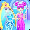 Ice Princess Makeup Salon For Sisters icon