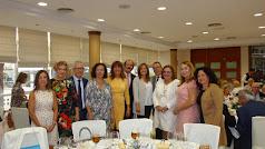 Representantes institucionales acompañaron a Mari Ángeles Rabadán en su homenaje.