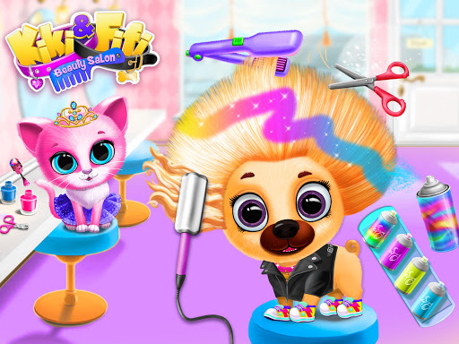 Kiki & Fifi Pet Beauty Salon - Haircut & Makeup apkpoly screenshots 19