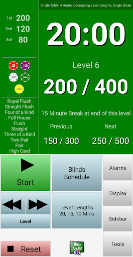 Blinds Are Up! Poker Timer filehippodl screenshot 2