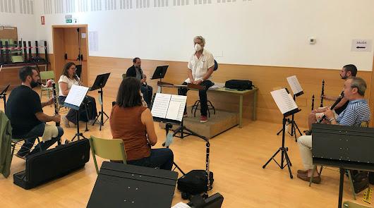 La Banda el Día de la Música en 'Doña Pakyta' y en la Plaza Vieja
