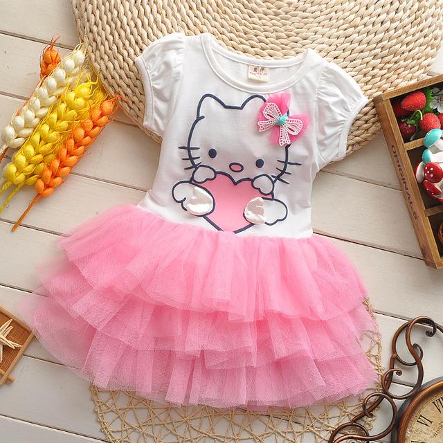 Sukienki dla dziewczynek Hello Kitty