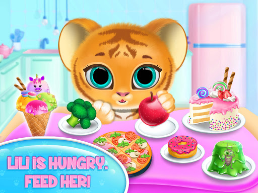 Baby Tiger Care - My Cute Virtual Pet Friend apkpoly screenshots 16