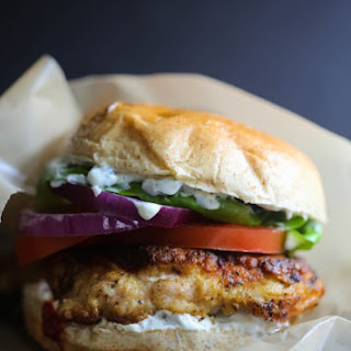 Fried Chicken Shawarma Sandwich Recipe