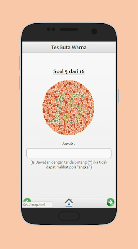 Tes Buta Warna 1.0 screenshots 3