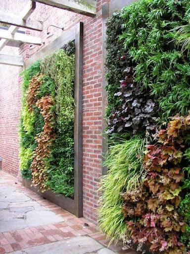 DIY Vertical Garden Planters