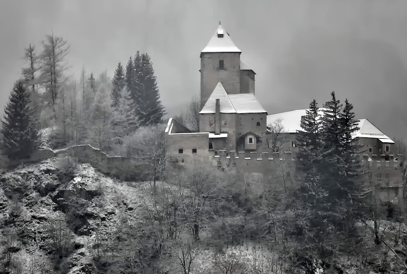 Neve su Castel Tasso di Diana Cimino Cocco