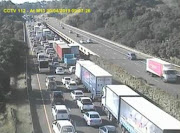 Traffic on the N3 and M13 highways was backed up as refuse truck drivers joined the eThekwini municipal strike.