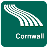 Cornwall Map offline