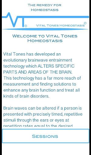 Vital Tones 항상성