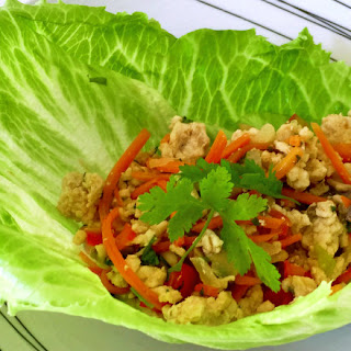 Asian Turkey Lettuce Cups Recipe