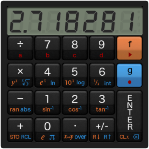 RetroCalc- screenshot
