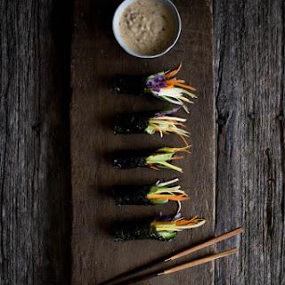 Sunrise Nori Wraps with Spicy Tahini Drizzle