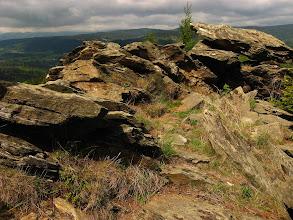 Photo: Pierwsze kamienie Obrich skal. Nic tylko podziwiać walory krajobrazu.
