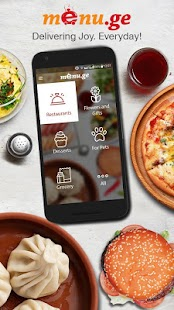 Menu.ge — restaurant food delivery - náhled