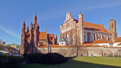 Photo: Vilnius. Šv. Onos bažnyčia.
