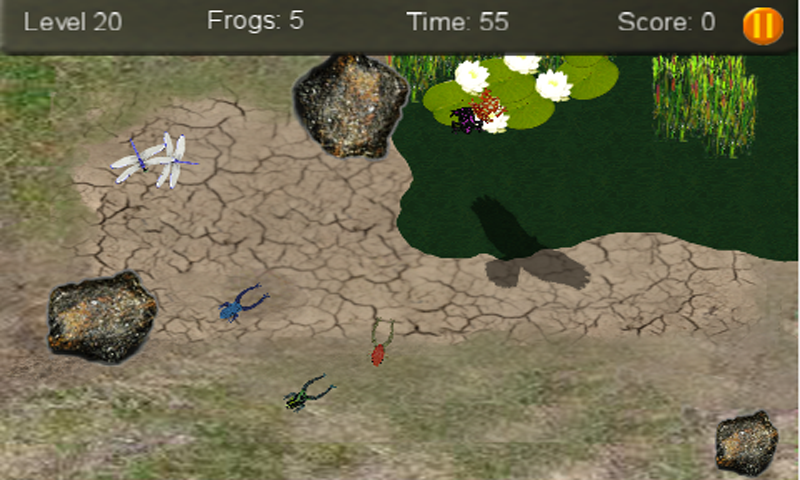Baby Frogs- screenshot