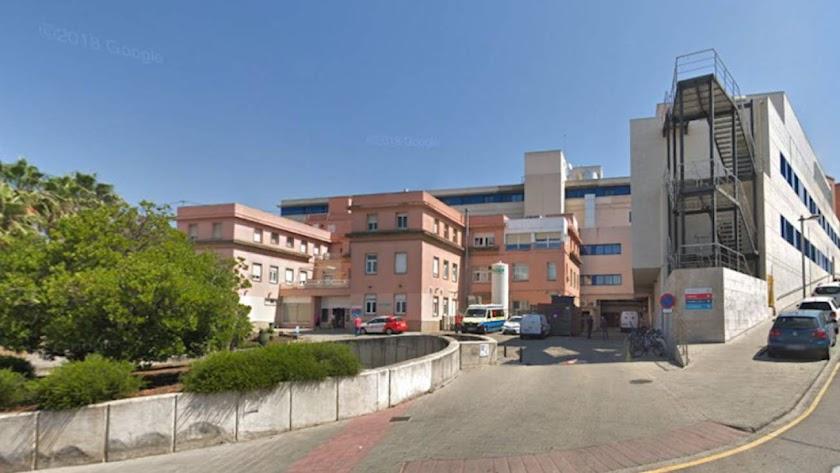 Exterior del hospital de Palamós.