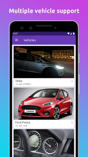 Fuelio: gas log, costs, car management, GPS routes screenshot 4