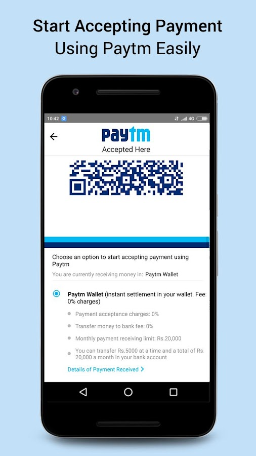 Screenshots of Recharge, Bill Payment & Wallet for iPhone
