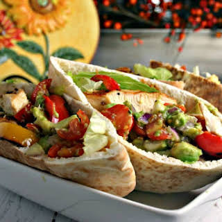 Chicken Fajita Pita.