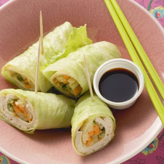 Napa Cabbage Leave Spring Rolls