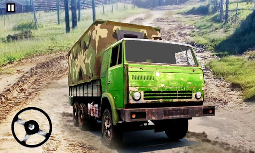 Army Truck Cargo Truck Simulator: Army Truck 3D apktreat screenshots 1