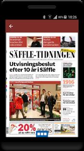Säffle-Tidningen e-tidning - náhled