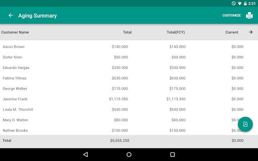 玩免費商業APP|下載ZOHO INVOICE AND TIME TRACKING app不用錢|硬是要APP