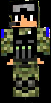haha c un soldat que j ai fait pour des rp